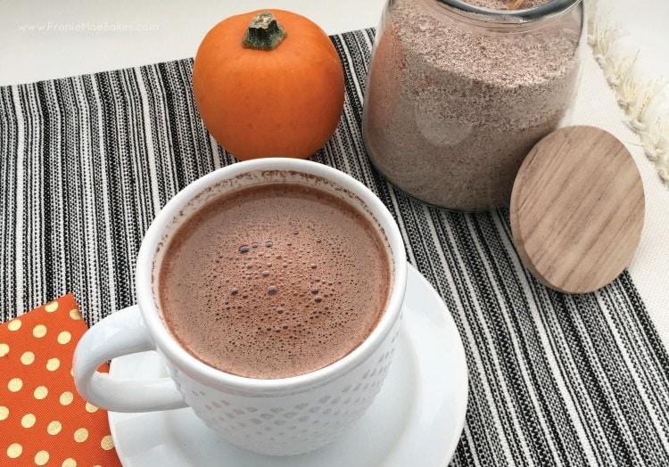 Pumpkin Spice Hot Chocolate Mix Recipe