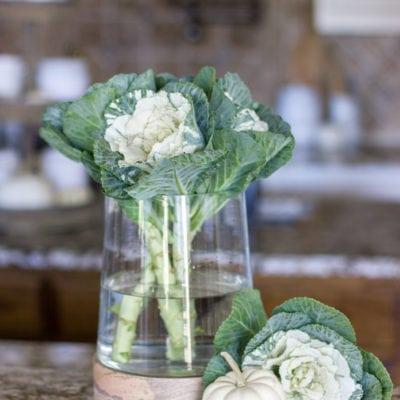 5 Simple Fall Arrangement Ideas Using One Glass Vase