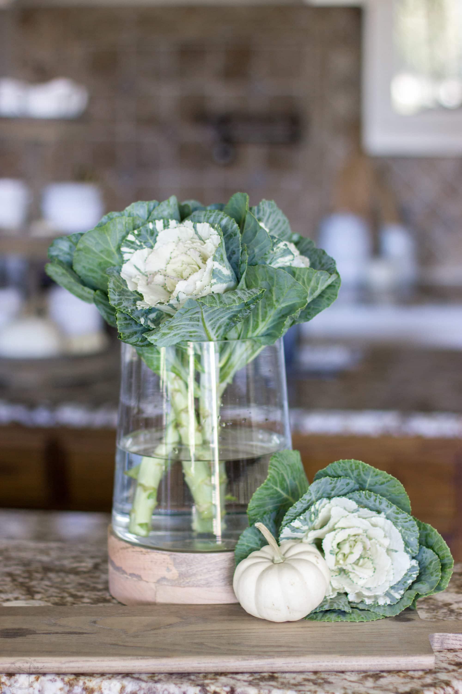 Fall Arrangement Ideas Using One Glass Vase 5 Simple