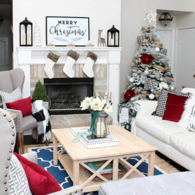 Christmas Home Tour with Kirklands + A Giveaway