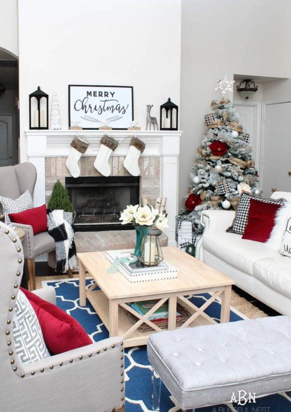 Christmas Home Tour with Kirklands