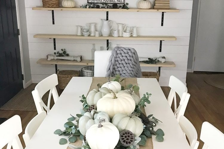 How to Make a Simple Fall Tablescape