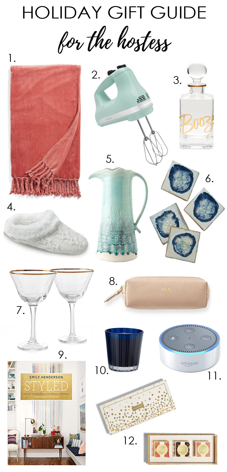 Holiday gift ideas gifts for the hostess a blissful nest for Holiday party gift ideas for the hostess