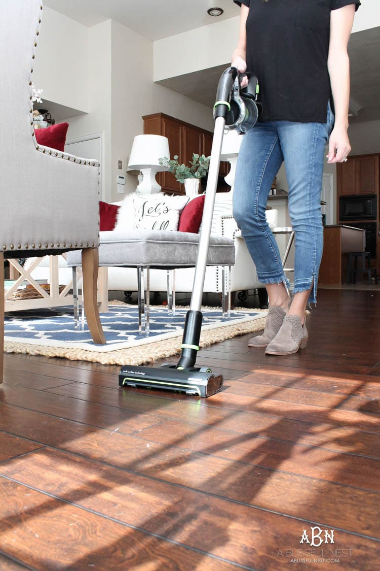 How to keep hardwood floors clean year round with bissell love these tips to keep hard floor surfaces clean with the new bissell multi reach cordless dailygadgetfo Choice Image