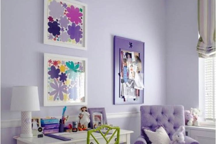 How to Decorate with Pantone Color of The Year 2018 Ultra Violet
