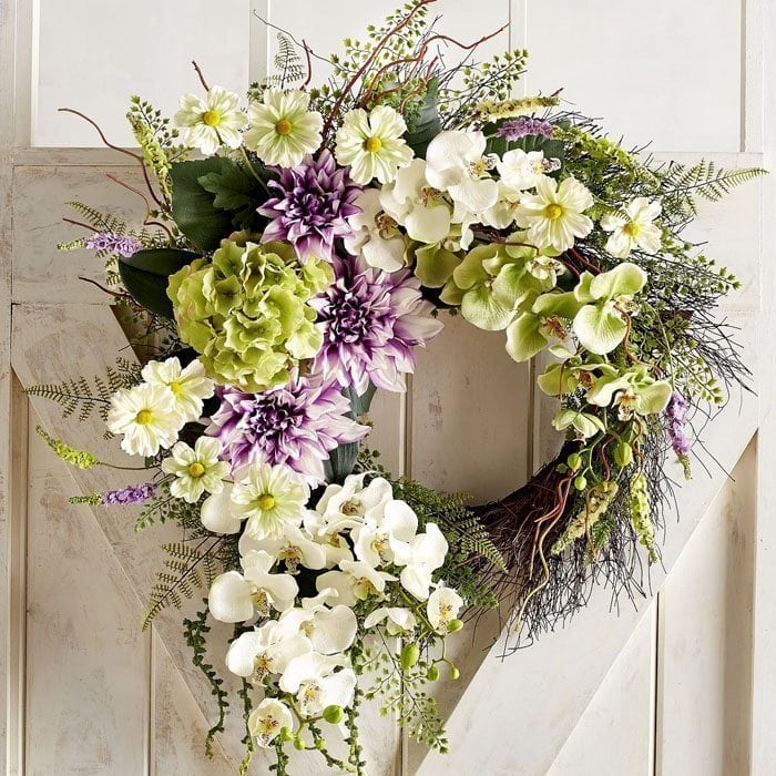 15 Best Spring Wreaths For Your Home A Blissful Nest