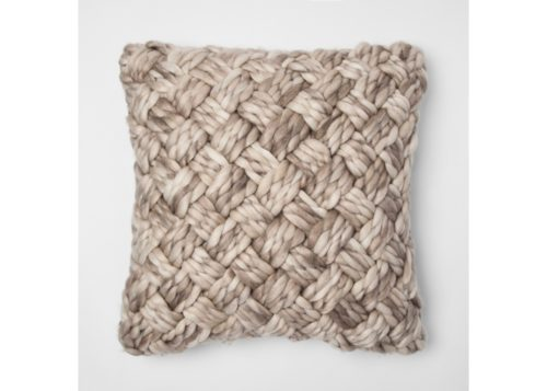 Such a pretty pillow with lots of texture!