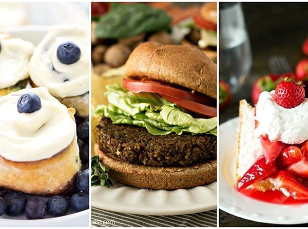 So many yummy and easy gluten free recipes in this post! #glutenfree #gfrecipes #glutenfreerecipe