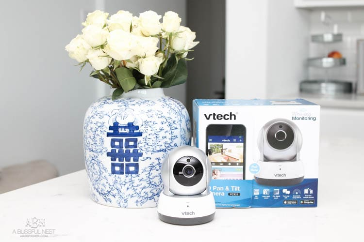 Everyone needs a VTech VC931 HD Pan & Tilt Camera. Get more info on this amazing camera and ideas on how to use it in your home. #ad #vtech