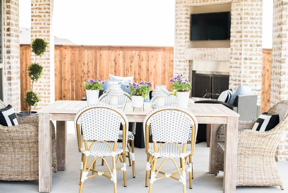 Small Backyard Patio Ideas My Outdoor Living Space Reveal