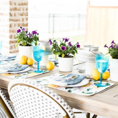 Colorful Springtime Party Idea + Best Place To Get Party Essentials