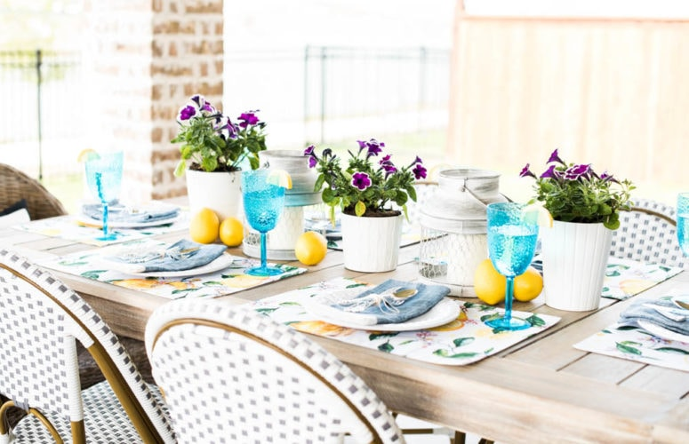 Colorful Springtime Party Idea + Best Place To Get Party Essentials