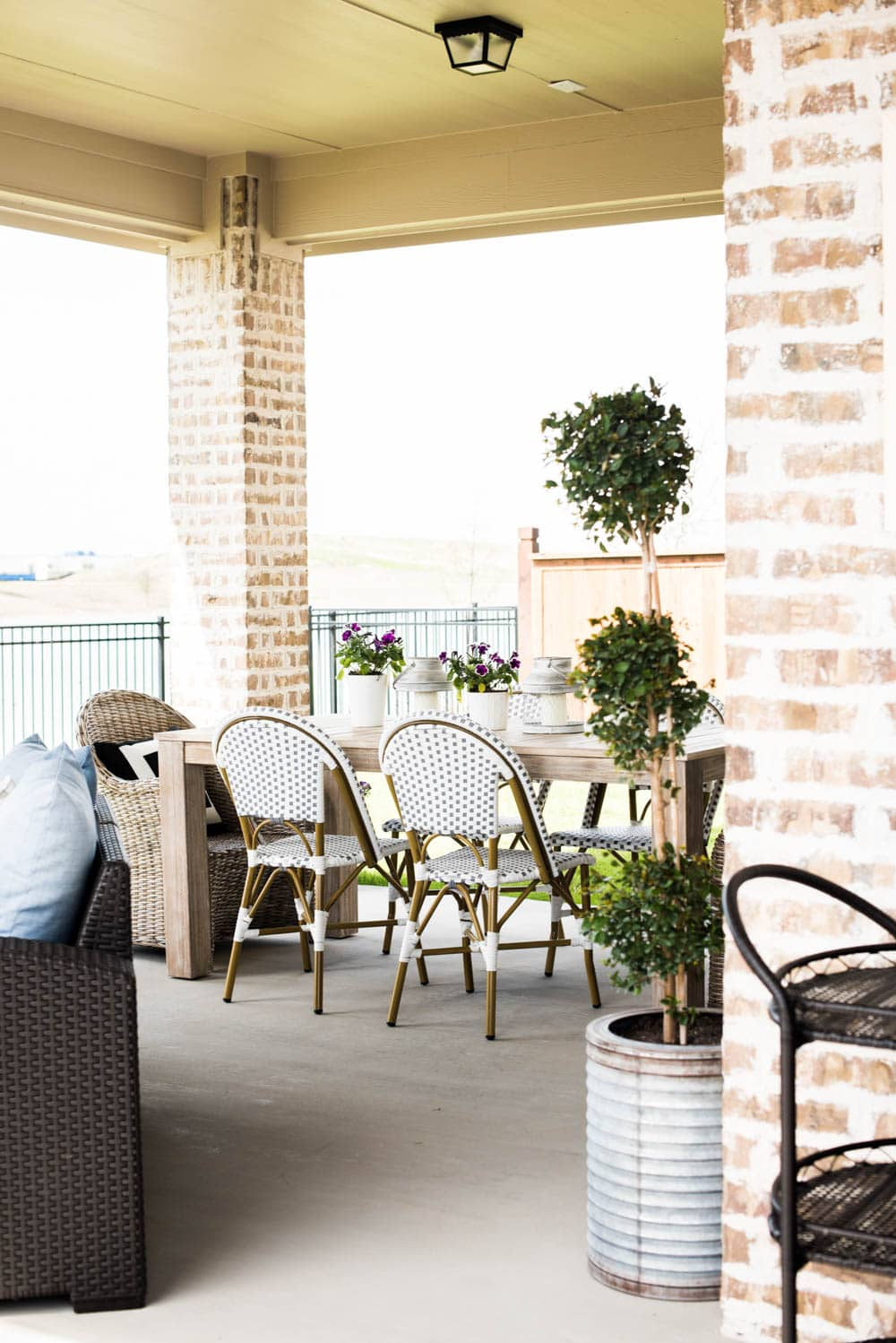 Small Backyard Patio Ideas + My Outdoor Living Space Reveal
