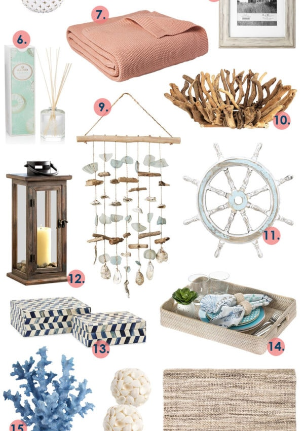 Coastal Living Home Decor to Update Your Space