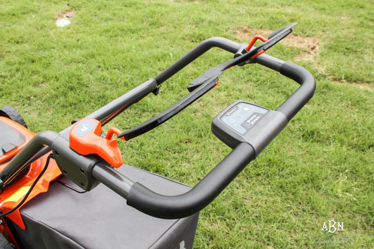 There are many tips + tricks to getting your lawn looking great for the spring season! #ad #husqvarna