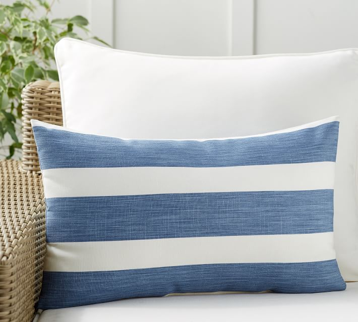 The best striped pillow this season!