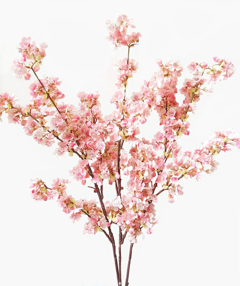 These are such gorgeous faux cherry blossom stems!