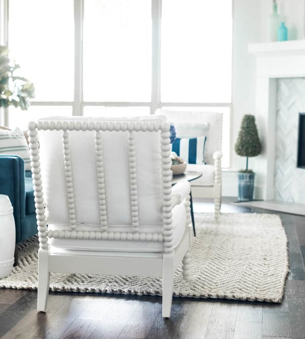 Coastal Living Room Reveal + Source List