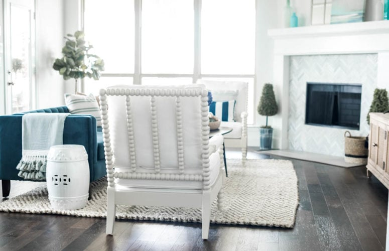 Coastal Living Room Reveal + Source List