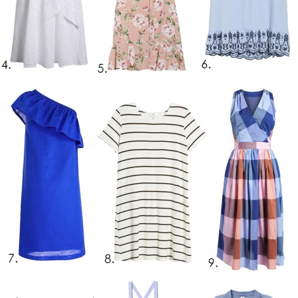 These are the best summer dress and many are on sale! #summerdresses #summeroutfit #outfitideas