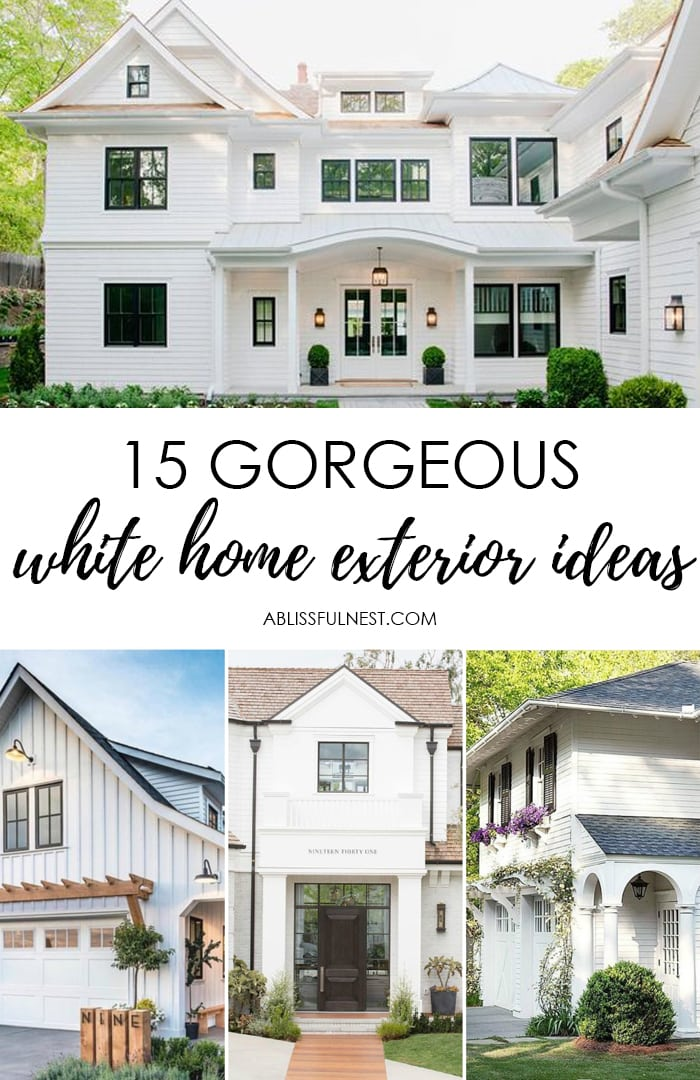 These Are The Most Gorgeous White Homes And Great Tips Ideas To Make Paint