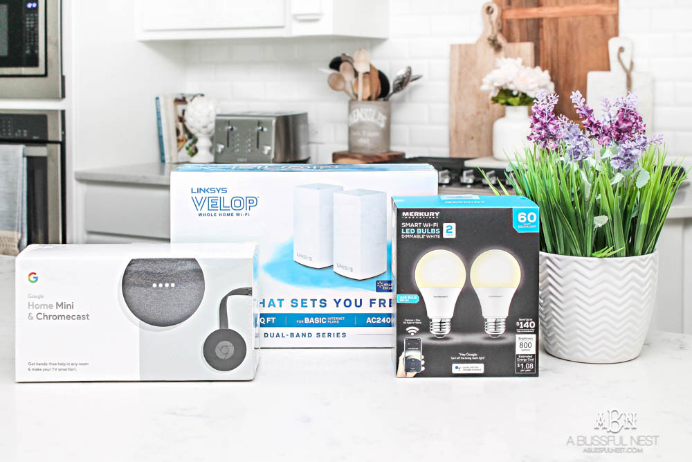 Tips to making your home a smart home. #ABlissfulNest #ad #WalmartWOW