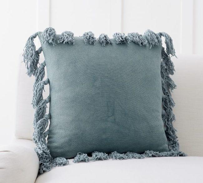 Tassel Knot Pillow