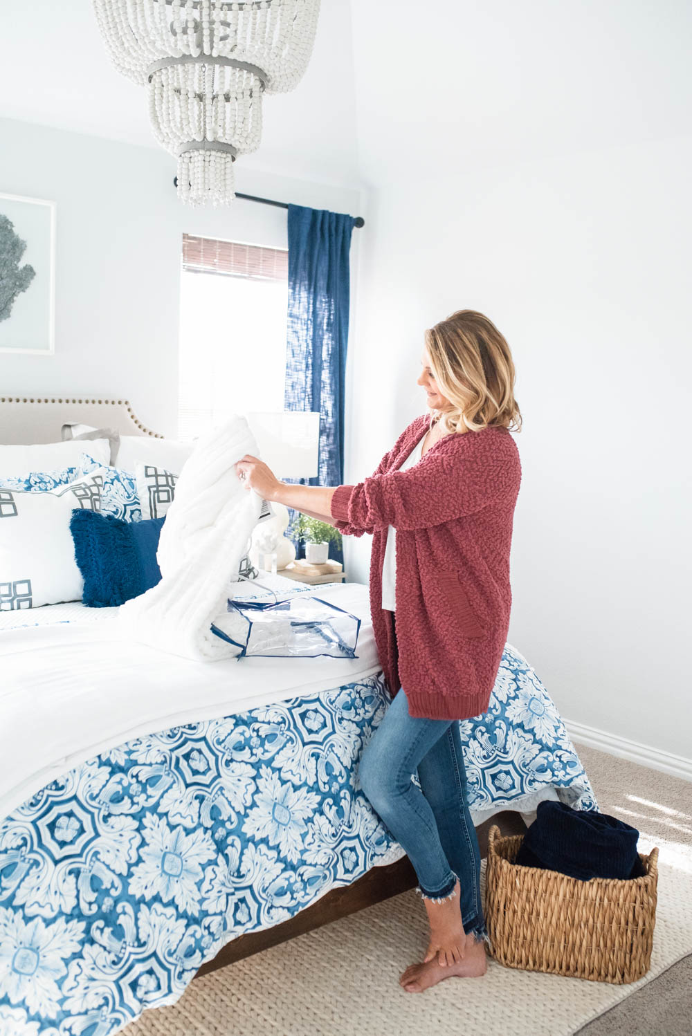 Grab my list of bedroom basics and shop the huge White Sale at Kohl's. #ad #KohlsHomeSale