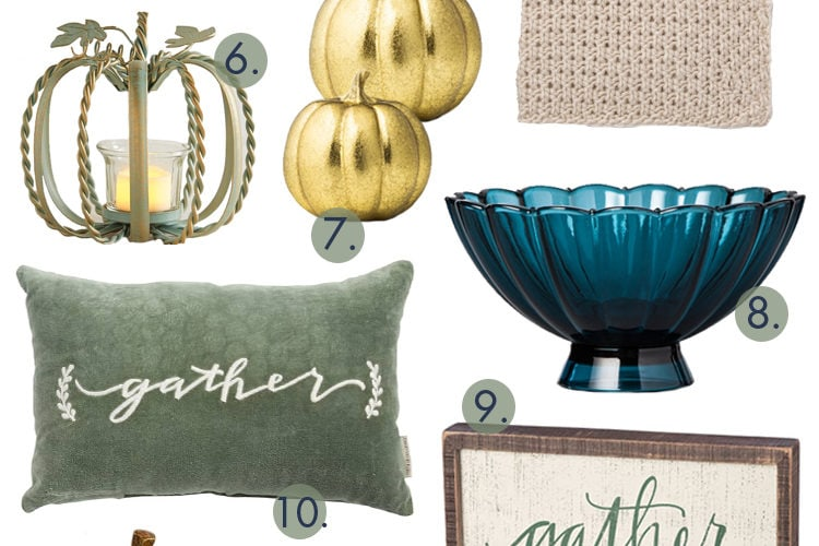 Beautiful Fall Decor Finds for a Classic Look