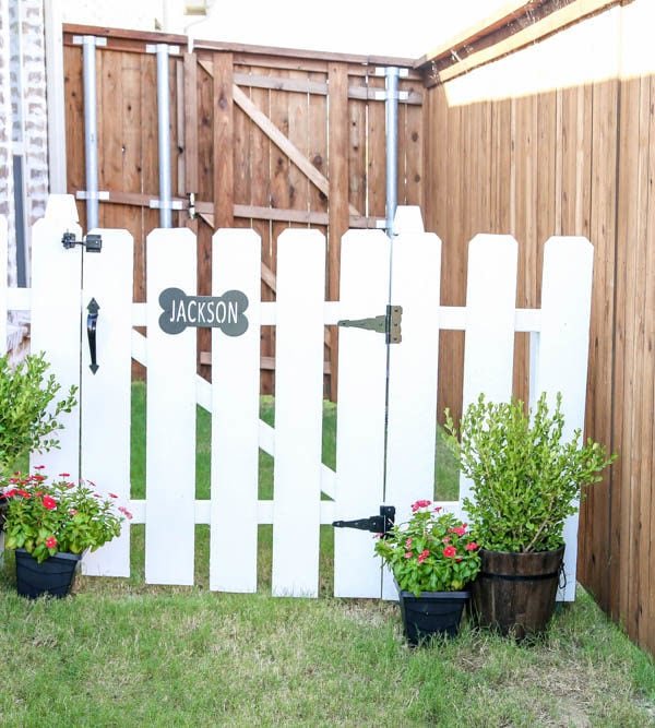 Simple Step by Step Dog Gate Tutorial