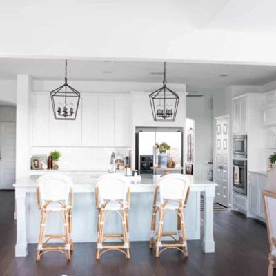 Simple and Neutral Fall Kitchen Home Tour