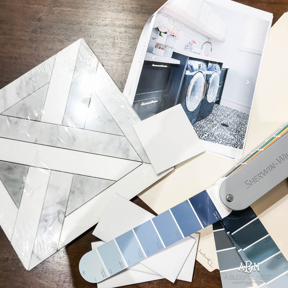 So excited to share my laundry room design plans using one of my favorite sources Floor & Decor! #ad #flooranddecor