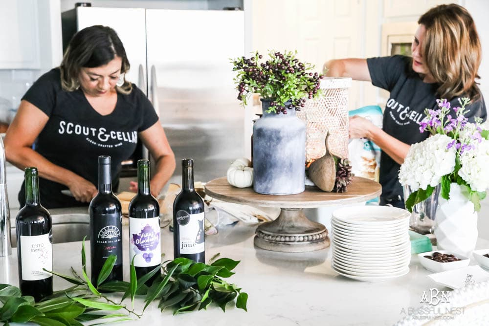 Get these tips on how to host a wine tasting party that all your friends will love! #ABlissfulNest #partyidea