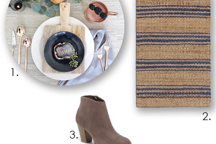 Get ready for Thanksgiving and warm cozy things for your home with these 5 great finds! #ABlissfulNest