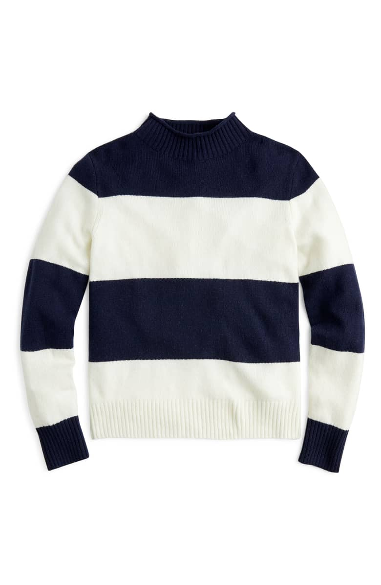 J.Crew does it again with the perfect staple sweater for our wardrobe!