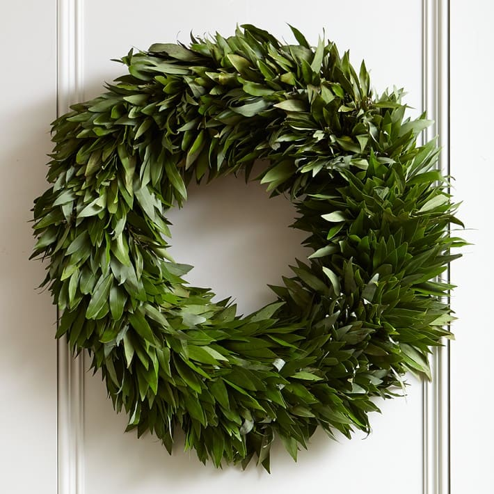 This wreath is such a great price and smells delicious!