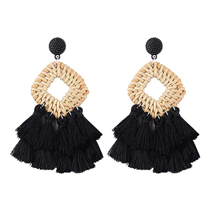 These statement earrings are under $13!!