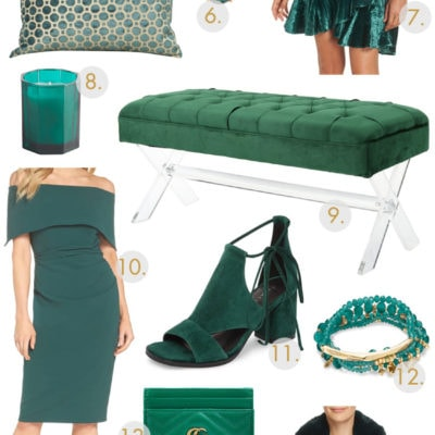 20 Beautiful Emerald Must Haves