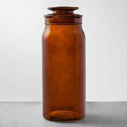 This gorgeous amber bottles are for a steal!