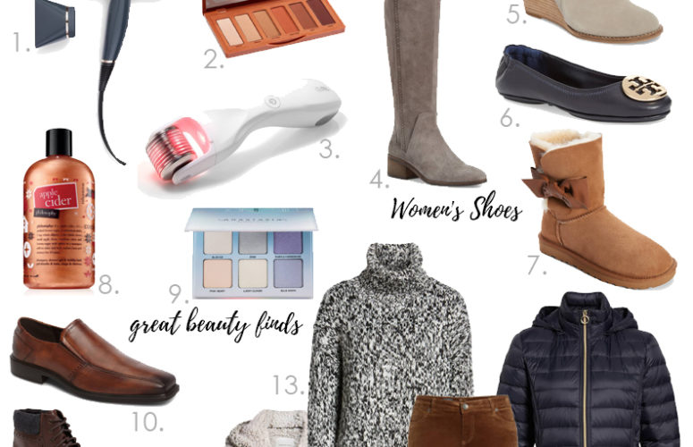 My must-have items from the HUGE Nordstrom Cyber Monday Sale! #ad #Nordstrom