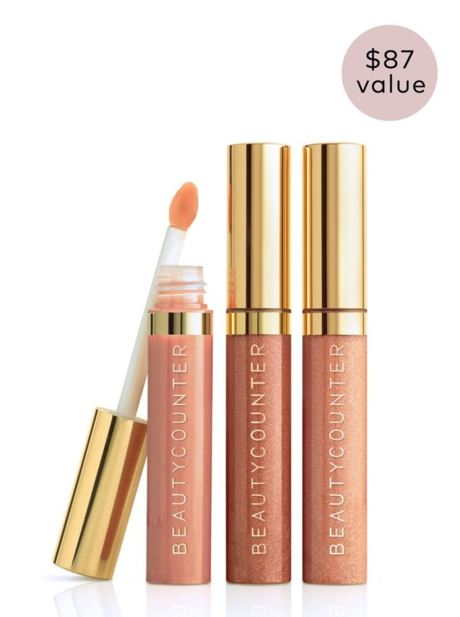 This lip trio is not only the perfect nude shades but also safer and cleaner beauty products!