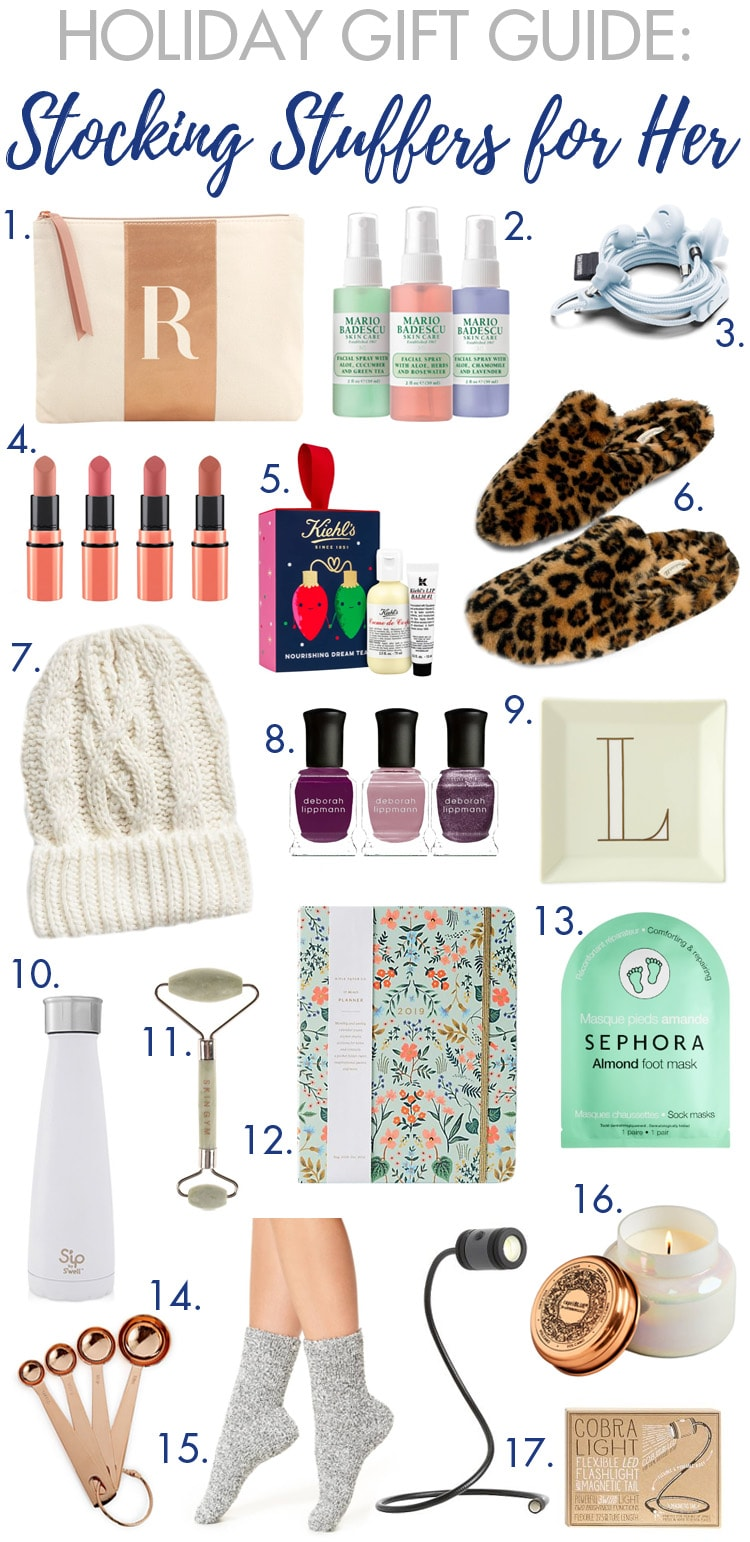 Stocking Stuffer Ideas for Women