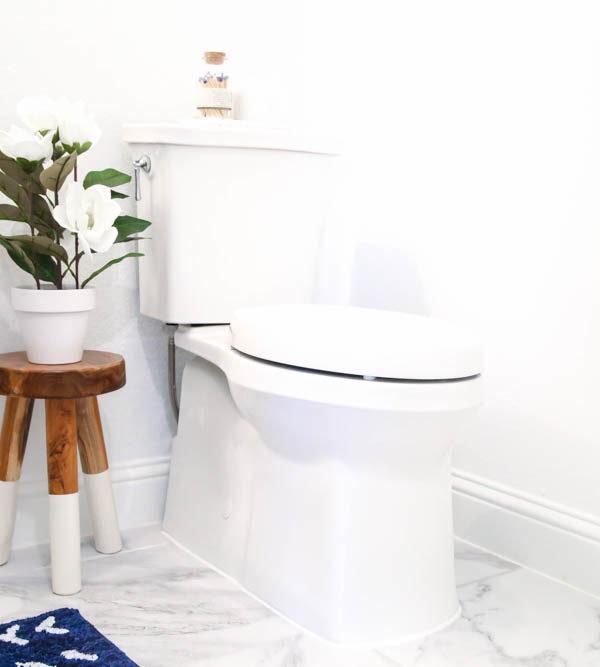 Easy Powder Bathroom Upgrades