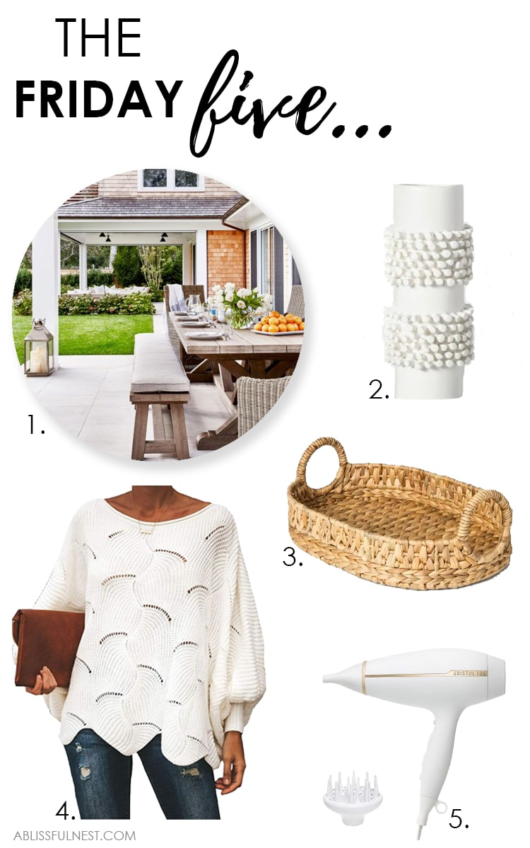 These are the BEST finds from the week from home decor + fashion! #ABlissfulNest