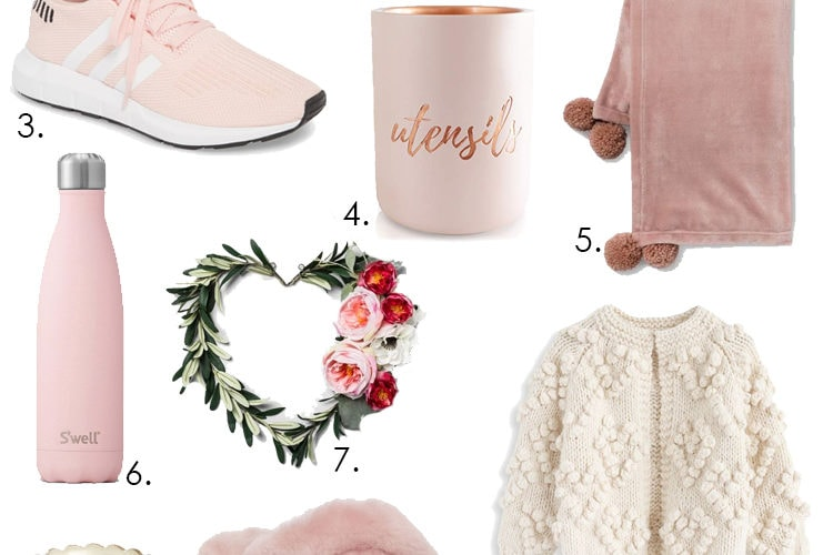 Think pink and grab some of the best ideas for gifts this year for Valentine's Day. #ABlissfulNest #ValentinesDay