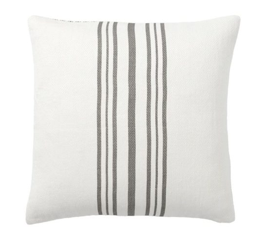 A beautiful classic pillow cover to go with any design style.