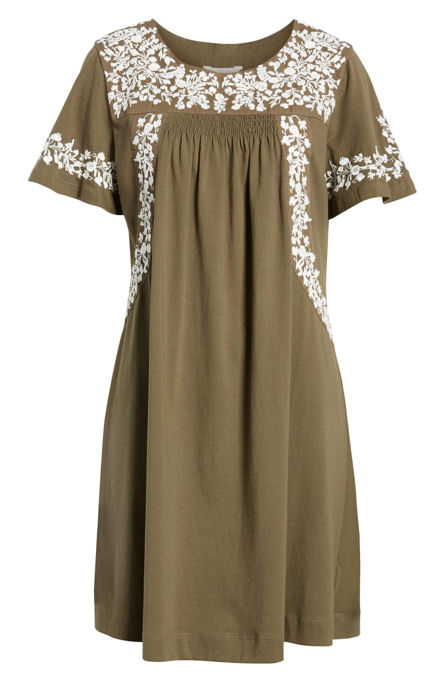 Summer Embroidered Dress