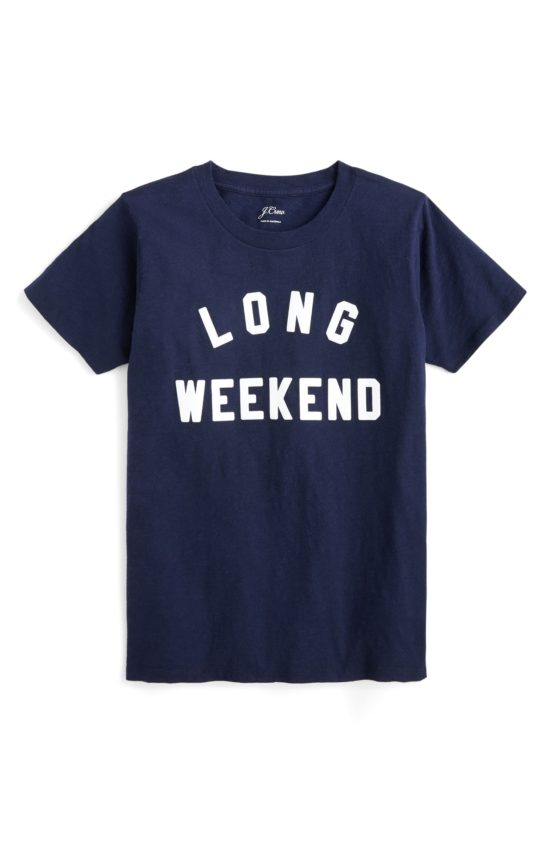 Long Weekend T-Shirt