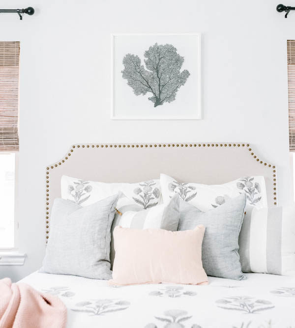 Guest Bedroom Refresh for Summer + Tips