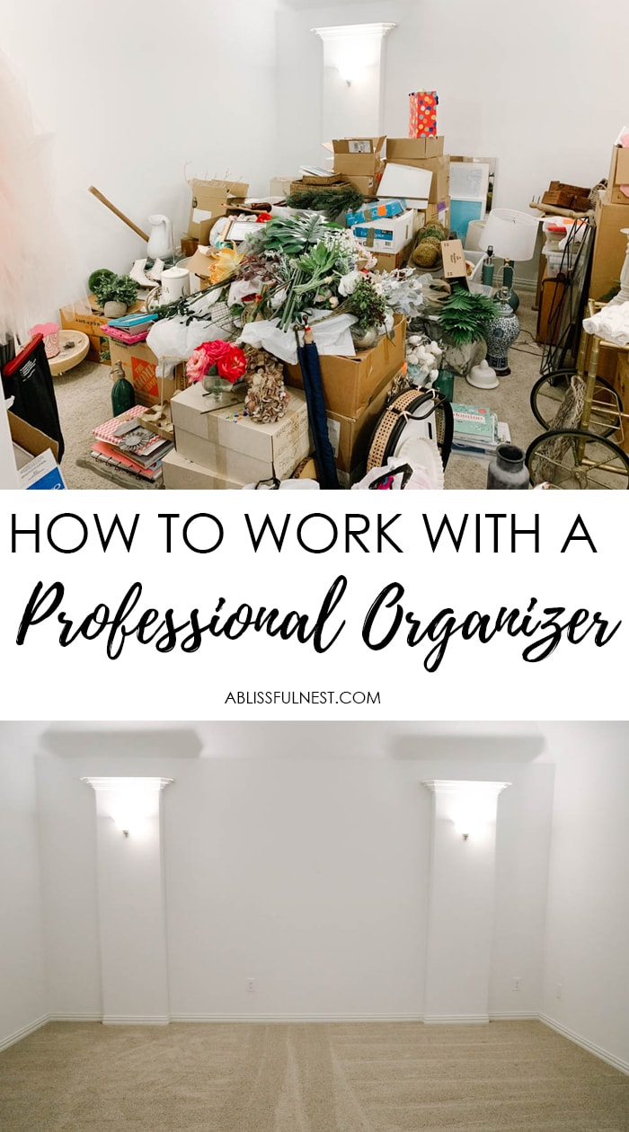 Learn how to work with a professional organizer affordably and effectively.